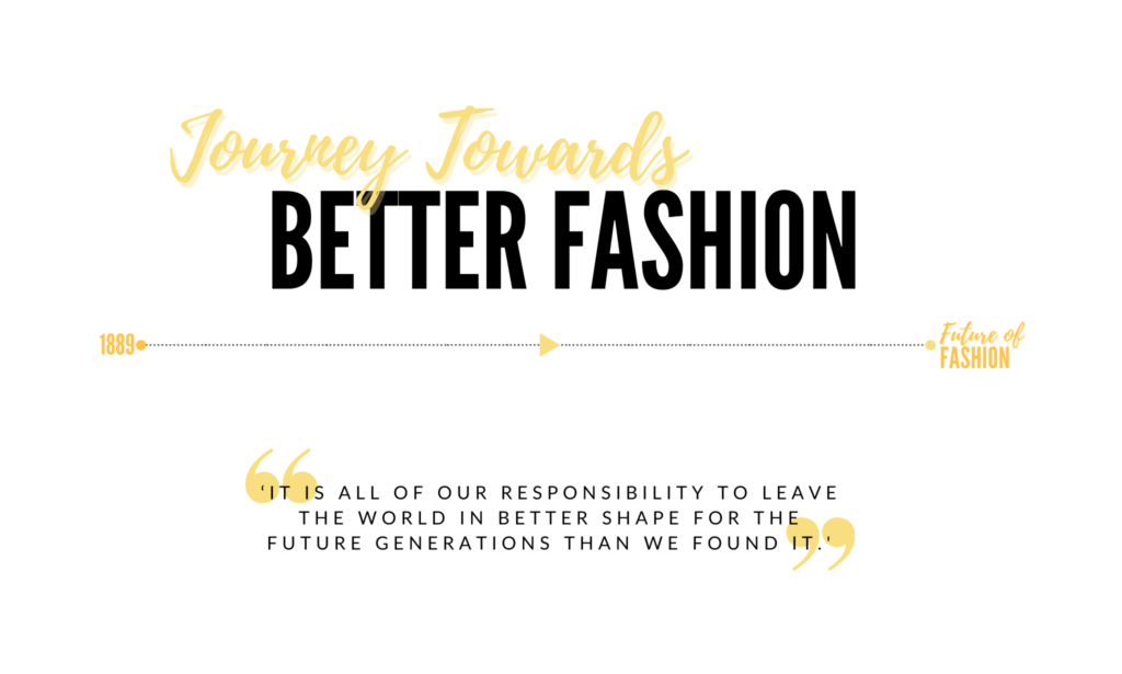 Journey Towards Better Fashion