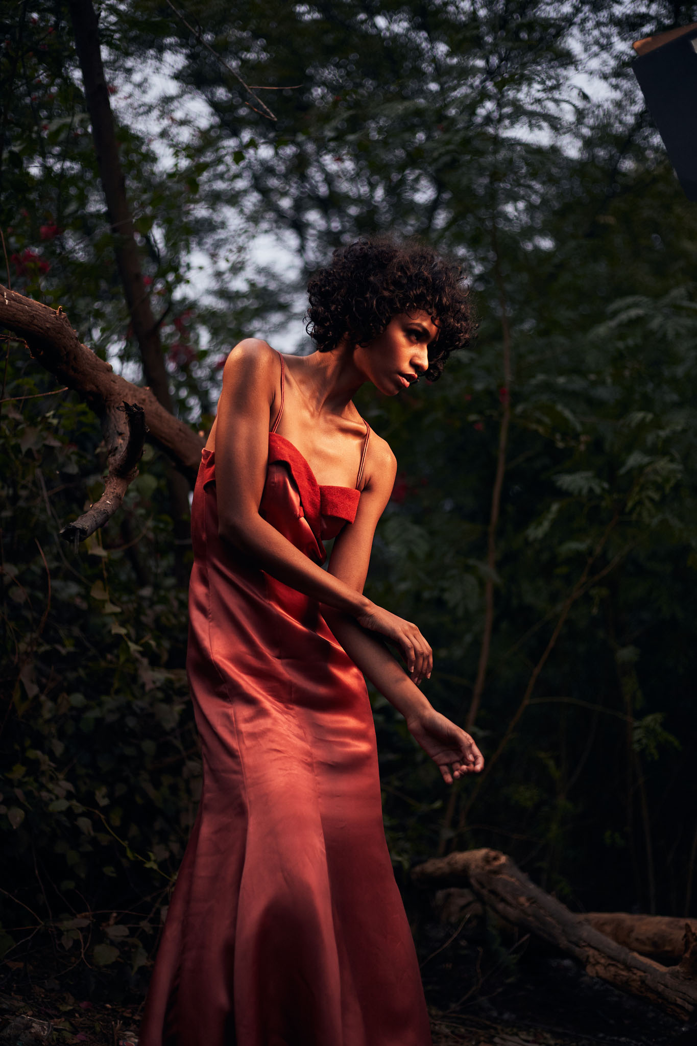 Sustainable Circular Fashion Editorials Taisha Trail Gown Tencel Lyocell and Cupro 09